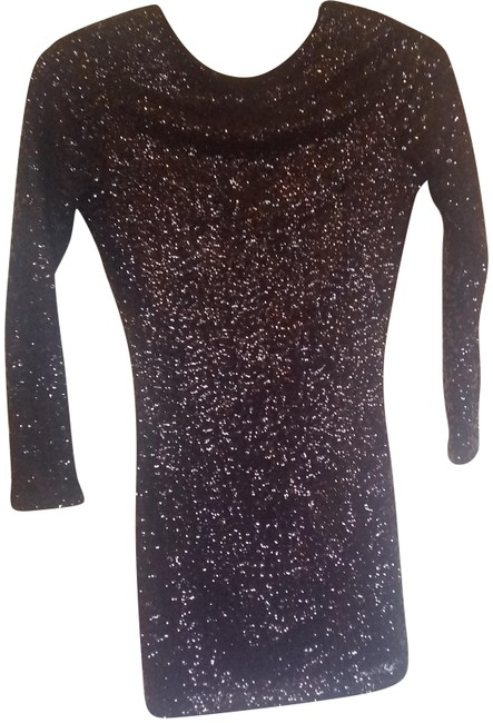 Item - Black Party Time Mid-length Night Out Dress Size 2 (XS)