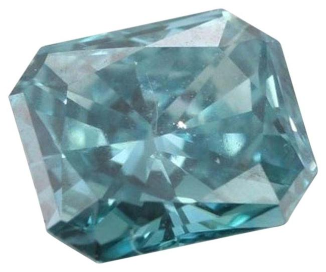 Item - Blue Radiant Loose Diamond 0.9 Ct Vivid 2 Enhanced Igl C6003181