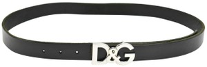 """Dolce&Gabbana Leather & Logo - fits 35"""" to 42"""" (mn) - Unisex"""