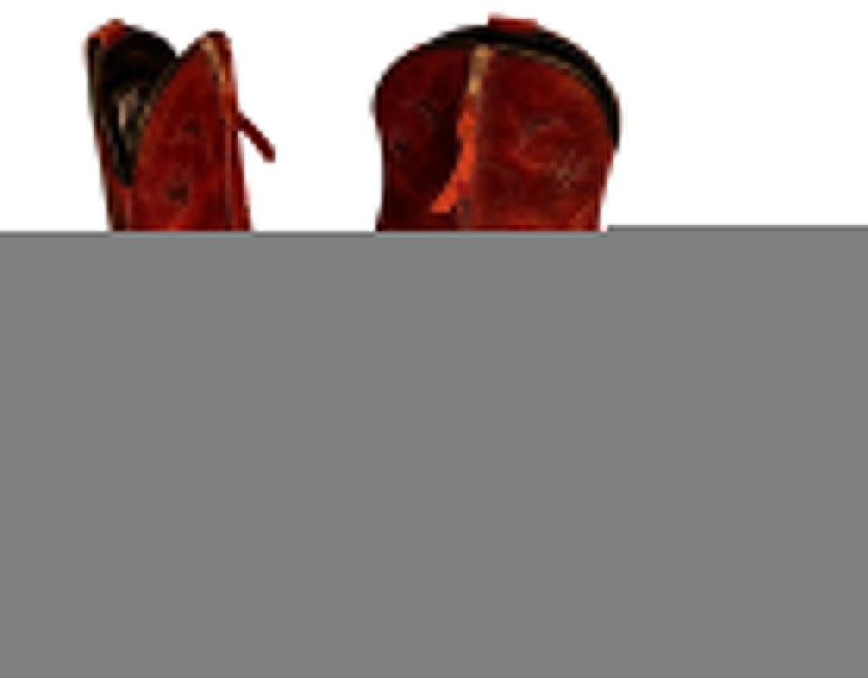 70d40e52c73 Dingo Red Women's Distressed Leather Short Cowboy Boots/Booties Size US 7.5  Regular (M, B) 39% off retail