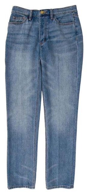 Item - Blue Medium Wash Darling Straight Leg Jeans Size 00 (XXS, 24)