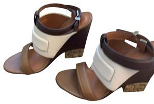 Givenchy brown, tan, and cream Sandals