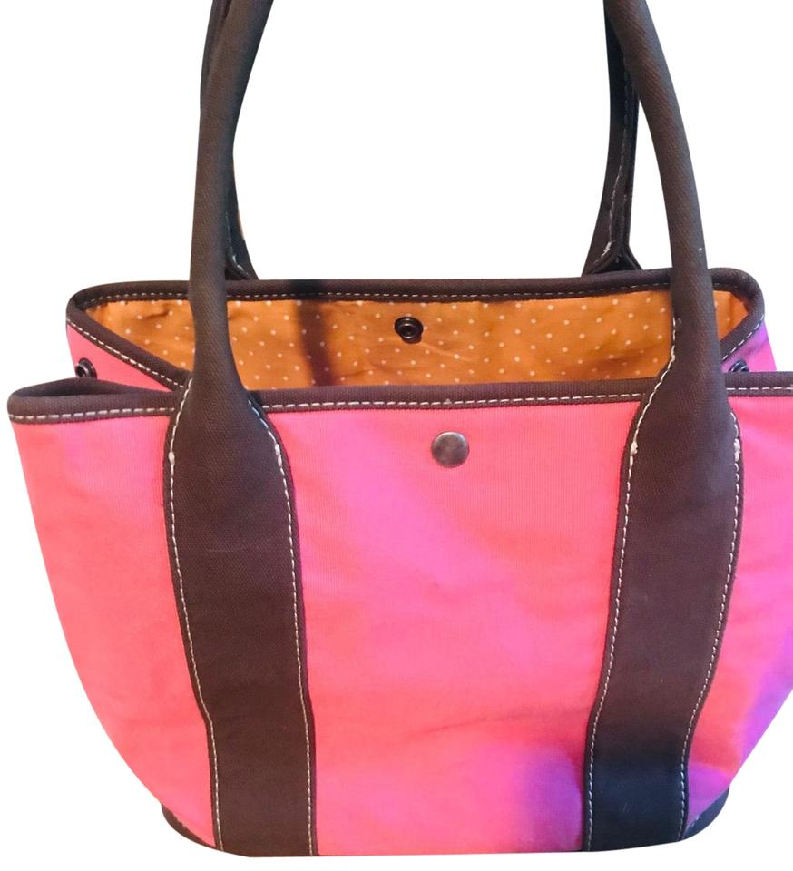 Bag Pink Canvas Tote