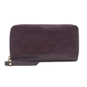 Louis Vuitton Monogram Empreinte Embossed Calf Leather Zippy Wallet