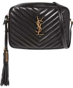 Saint Laurent Lou Monogram Quilted Shoulder Bag