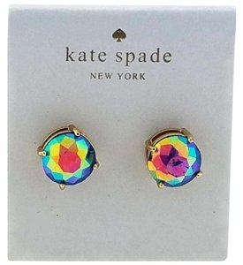 Kate Spade 098686639133 New Multi-color Round Shape Earnings
