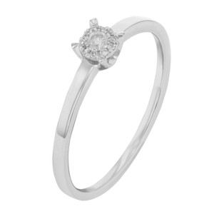 Bliss Diamond Engagement Ring 0.08cts
