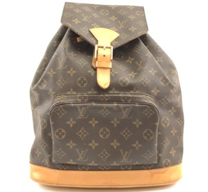 Louis Vuitton Gm Montsouris Monogram Backpack