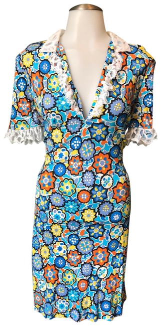 Preload https://img-static.tradesy.com/item/25410275/emilio-pucci-multicolor-summer-floral-print-lace-detail-short-casual-dress-size-4-s-0-1-650-650.jpg