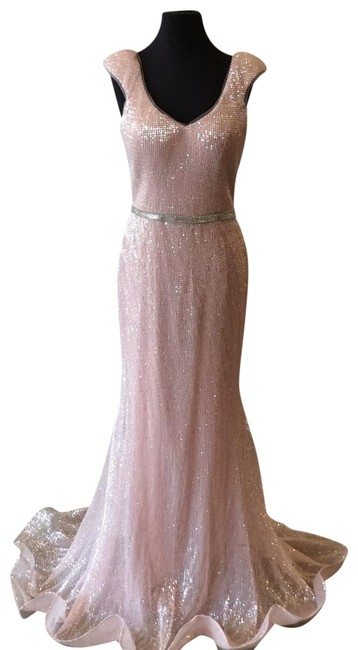 Item - Light Pink 62499a Long Formal Dress Size 8 (M)