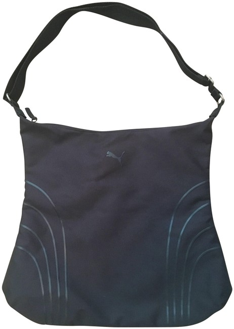 Item - Sport Black Polyester Cross Body Bag