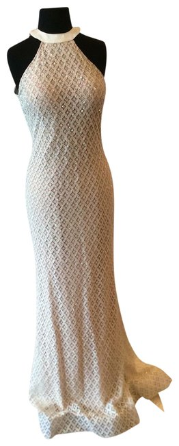 Item - Ivory/Nude Ew119084 Long Formal Dress Size 8 (M)