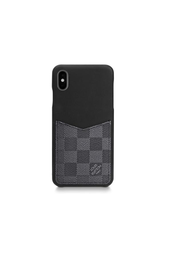 the latest 20b1c eca16 Louis Vuitton Black XS Max Iphone Bumper Damier Graphite Xs.max Phone Case  Tech Accessory