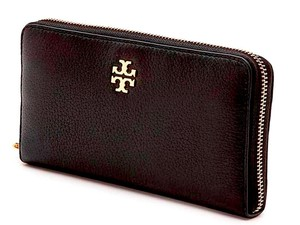 8804ade9b711 Tory Burch Black New with Tag Zip Continental Wallet