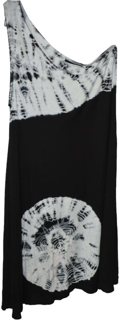 Item - Black and White 1060-98 Short Casual Dress Size 2 (XS)