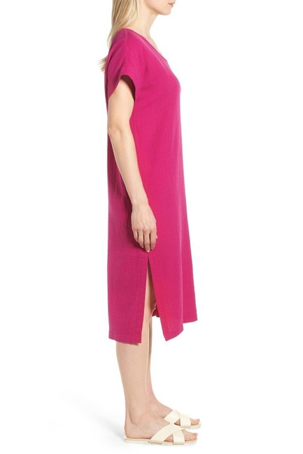 Eileen Fisher short dress Pink on Tradesy Image 2