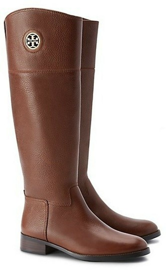 Preload https://img-static.tradesy.com/item/25411565/tory-burch-brown-junction-almond-textured-leather-gold-reva-riding-bootsbooties-size-us-95-regular-m-0-0-540-540.jpg