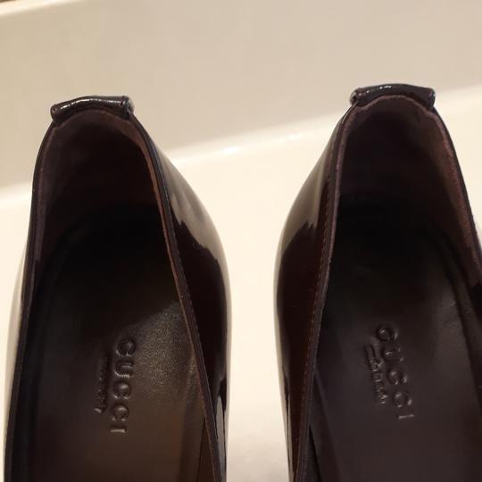 Gucci Burgundy Pumps Image 5