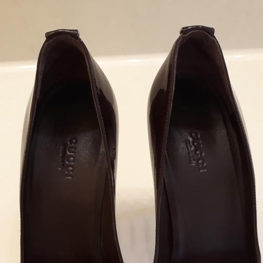 Gucci Burgundy Pumps Image 8
