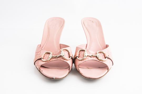 Gucci Pink Sandals Image 1