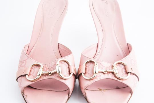 Gucci Pink Sandals Image 11