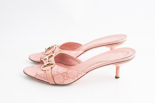 Gucci Pink Sandals Image 2