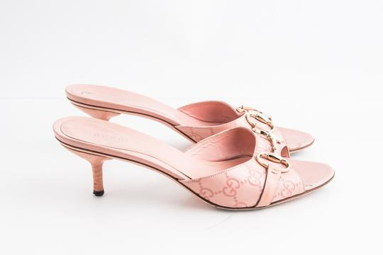 Gucci Pink Sandals Image 3
