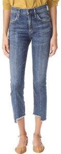 Citizens of Humanity Capri/Cropped Denim-Light Wash