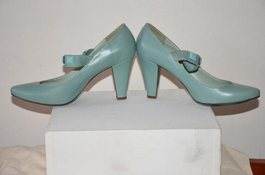 Patrizia Pepe Studded Made In Italy Ankle Strap blue Pumps Image 2