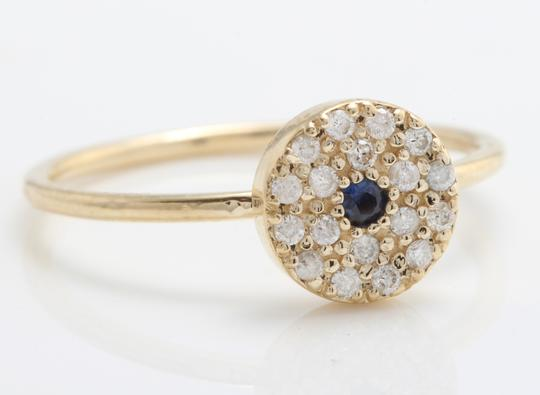 Other .25CTW Natural Blue Sapphire and DIAMOND in 14K Gold Ring Image 1