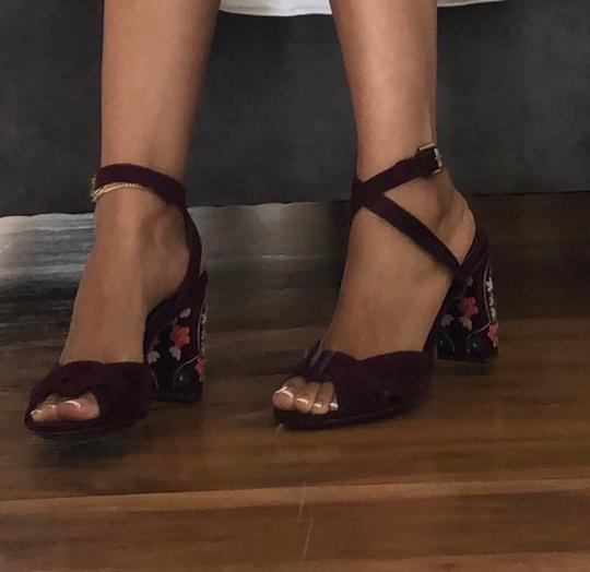 Chloé burgundy Pumps Image 3