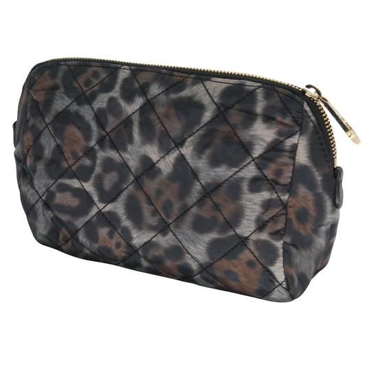 Moncler Women's Nylon Quilted Make-up Travel Pouch Bag Image 2