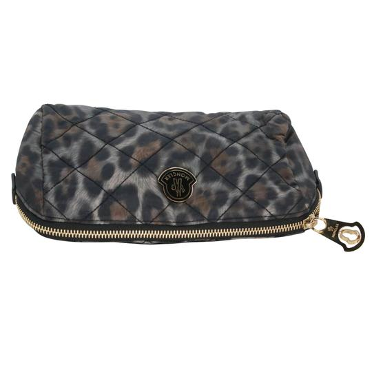 Moncler Women's Nylon Quilted Make-up Travel Pouch Bag Image 3