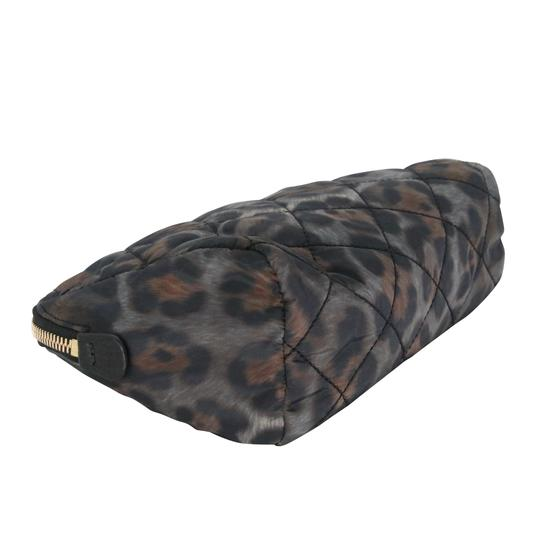 Moncler Women's Nylon Quilted Make-up Travel Pouch Bag Image 4
