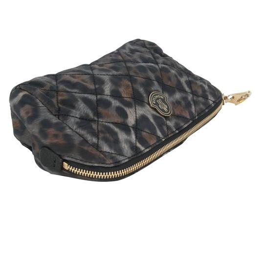 Moncler Women's Nylon Quilted Make-up Travel Pouch Bag Image 5