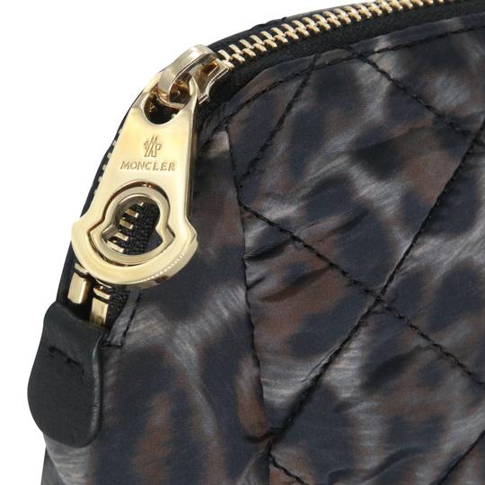 Moncler Women's Nylon Quilted Make-up Travel Pouch Bag Image 6