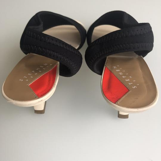 Stephen Venezia Black/beige Sandals Image 2