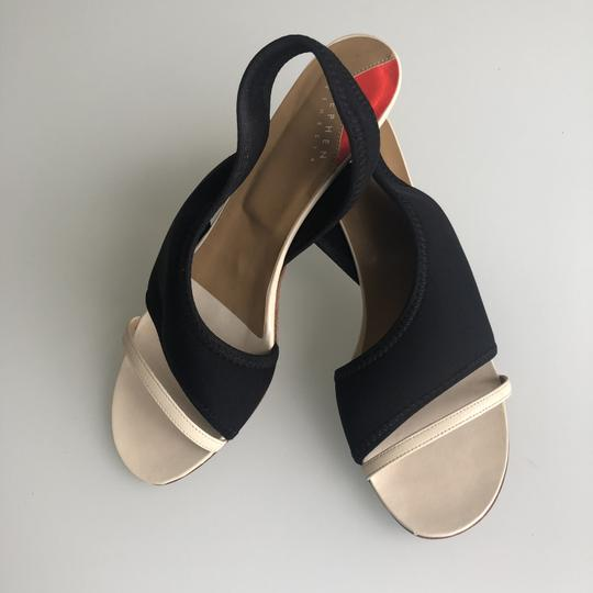 Stephen Venezia Black/beige Sandals Image 3