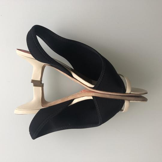 Stephen Venezia Black/beige Sandals Image 5