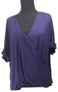 Double Zero Modal Wrap Hi Lo Ruched Tunic