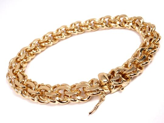 Tiffany & Co. Vintage 14K Yellow Gold Charm Link Bracelet Image 1