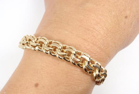 Tiffany & Co. Vintage 14K Yellow Gold Charm Link Bracelet Image 2