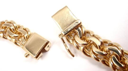 Tiffany & Co. Vintage 14K Yellow Gold Charm Link Bracelet Image 4