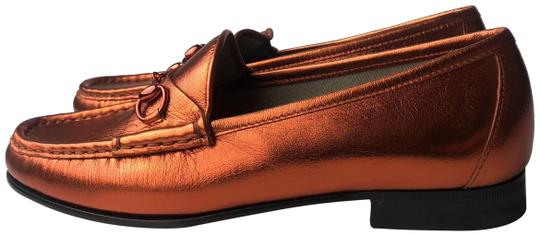 Preload https://img-static.tradesy.com/item/25412030/gucci-orange-horsebit-loafers-slip-ons-nappa-silk-holographic-flats-size-eu-37-approx-us-7-regular-m-0-1-540-540.jpg