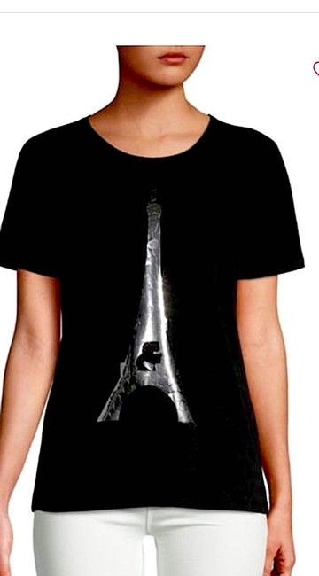 Karl Lagerfeld T Shirt black/silver with tag Image 1