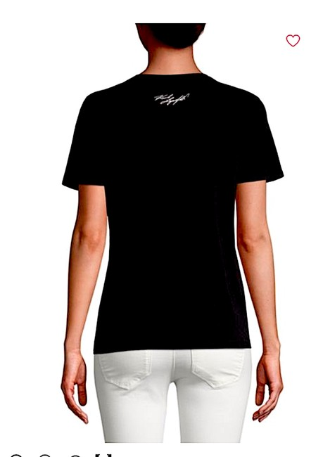 Karl Lagerfeld T Shirt black/silver with tag Image 5