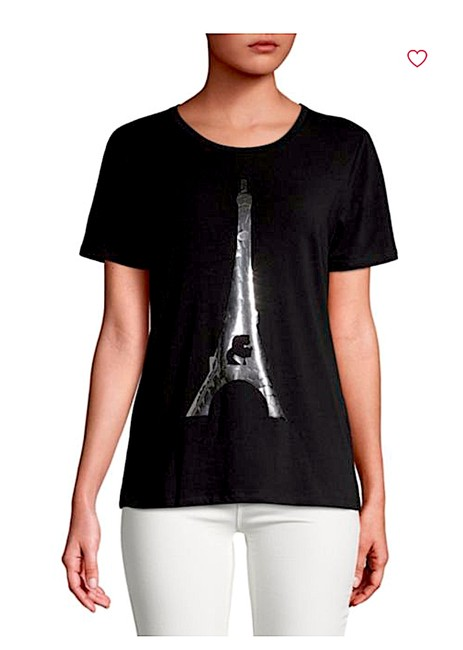 Karl Lagerfeld T Shirt black/silver with tag Image 6