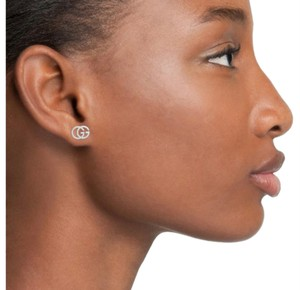 Gucci GUCCI Double-G Stud Earrings