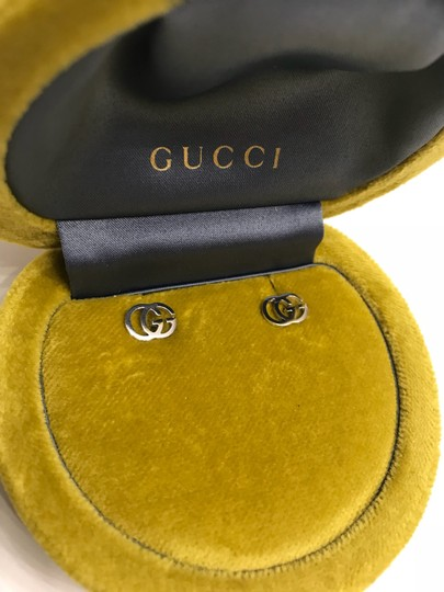 Gucci GUCCI Double-G Stud Earrings Image 2
