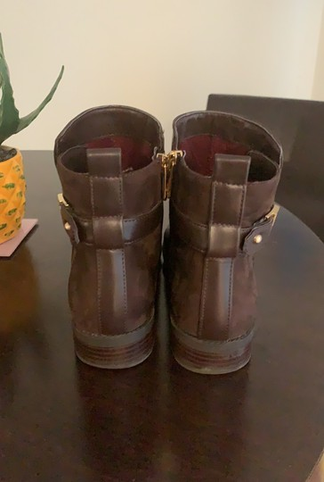 Tommy Hilfiger brown Boots Image 3